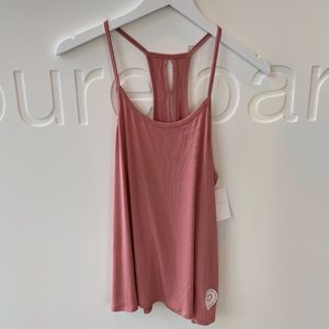 Beyond Yoga/Pure Barre Slink it over tank